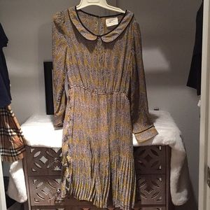 Pleated Dress by Bloomsbury size medium